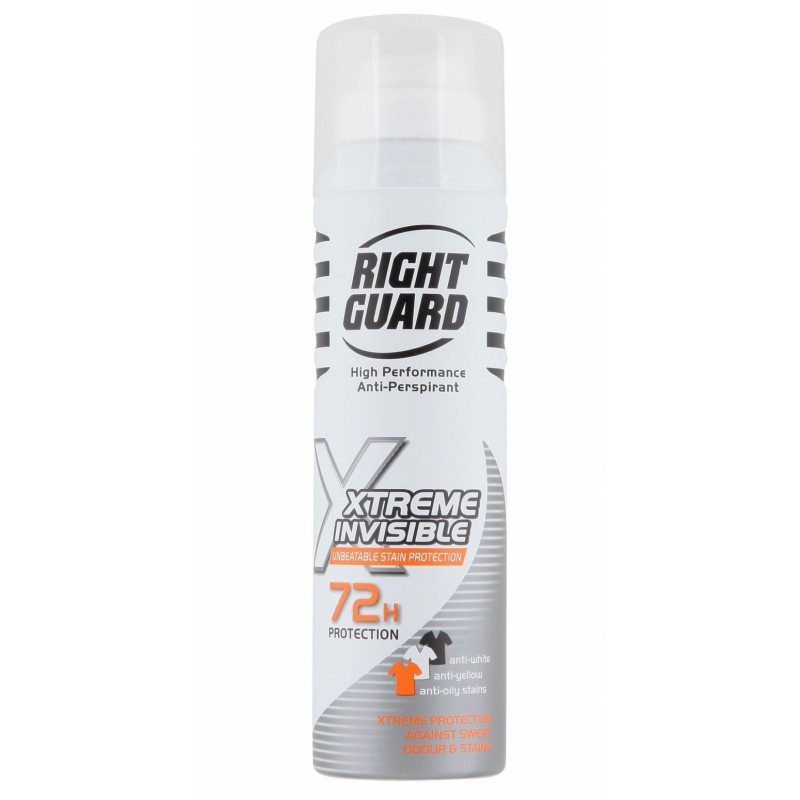 Right Guard Xtreme Invisible Stain Protection Deospray
