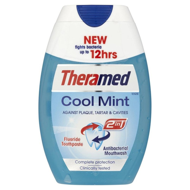 Theramed 2in1 Cool Mint Toothpaste & Mouthwash