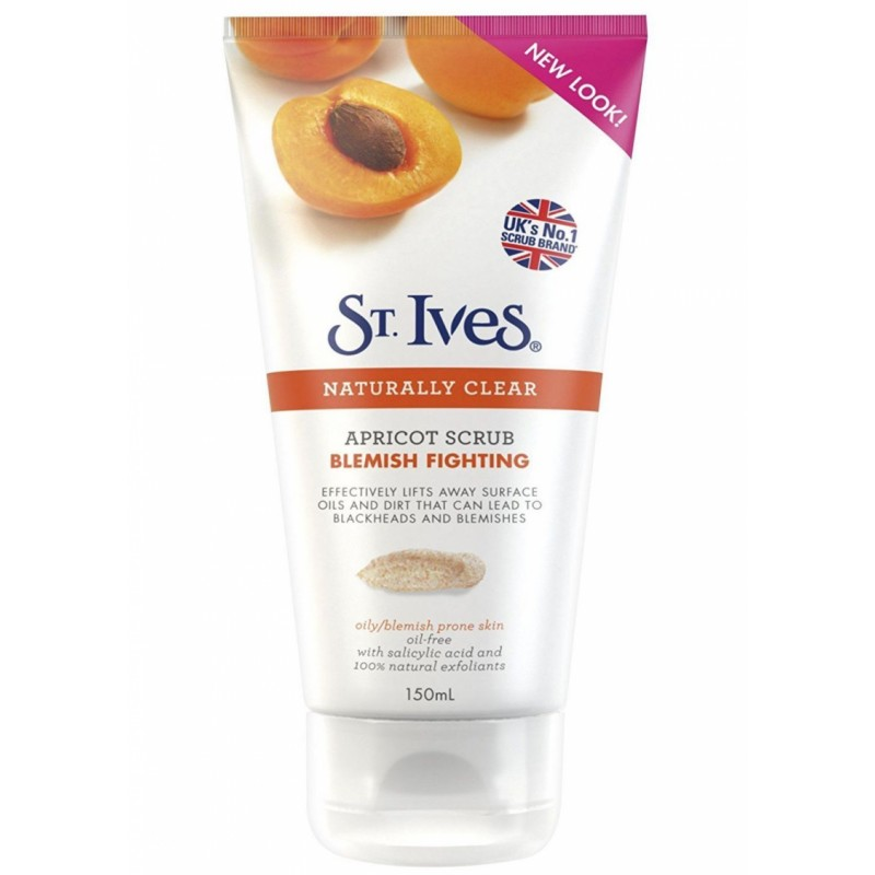 St. Ives Naturally Clear Apricot Anti-Pickel Peeling
