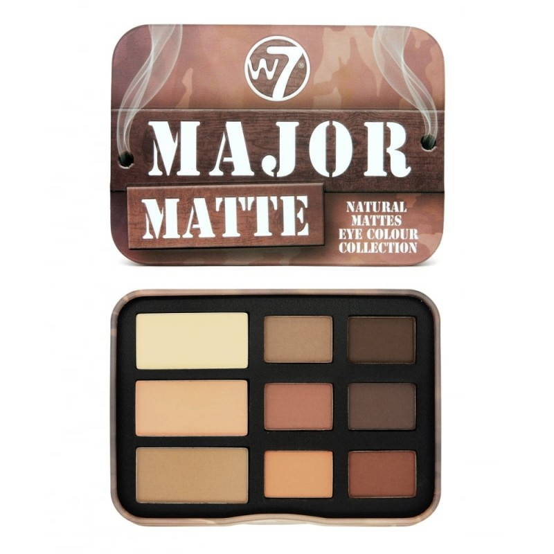 W7 Major Matte Eyeshadow Tin