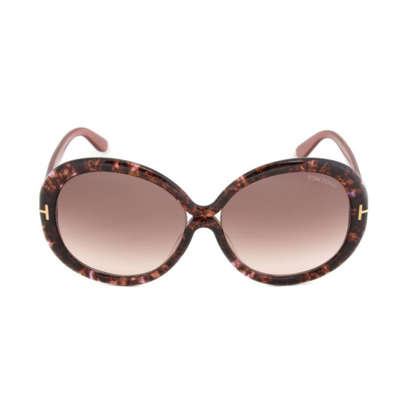 Tom Ford Gisella Sunglasses FT0388 50F Havana Brown
