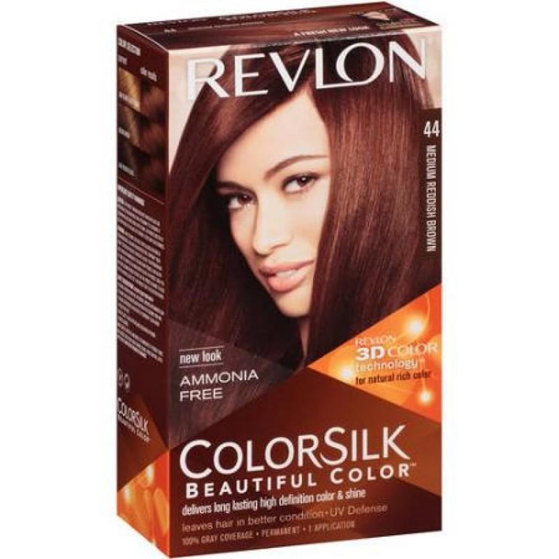 Revlon Colorsilk Permanent Haircolor 44 Medium Reddish Brown