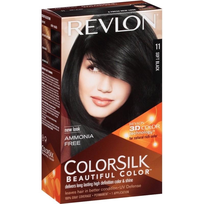 Revlon Colorsilk Permanent Haircolor 11 Soft Black