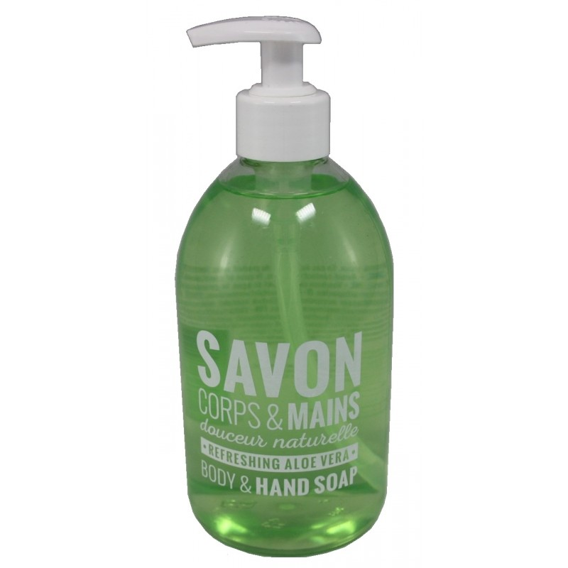 Savon Corps & Mains Liquid Soap Refreshing Aloe Vera