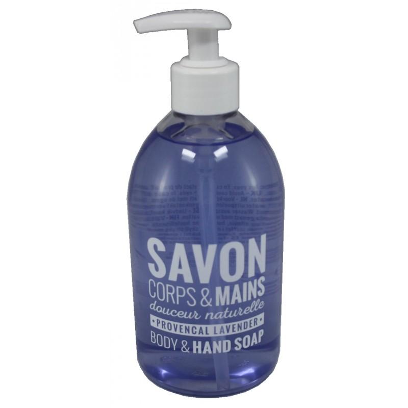 Savon Corps & Mains Liquid Soap Provencal Lavender