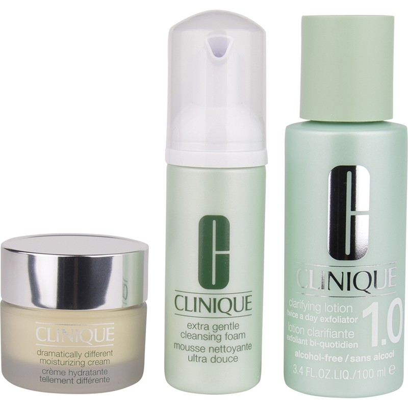 Clinique 3-Step Skin Care System 1 Introduction Kit Extra Gentle