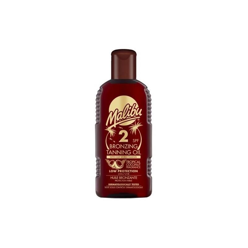 Malibu Bronzing Tanning Oil SPF2
