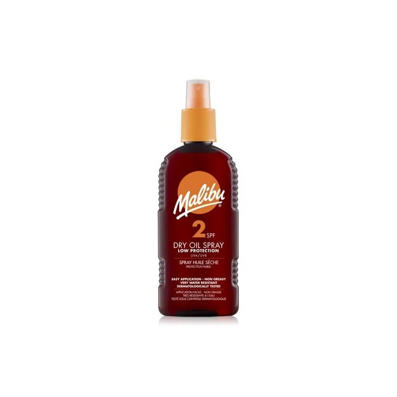 Malibu Dry Oil Spray SPF2
