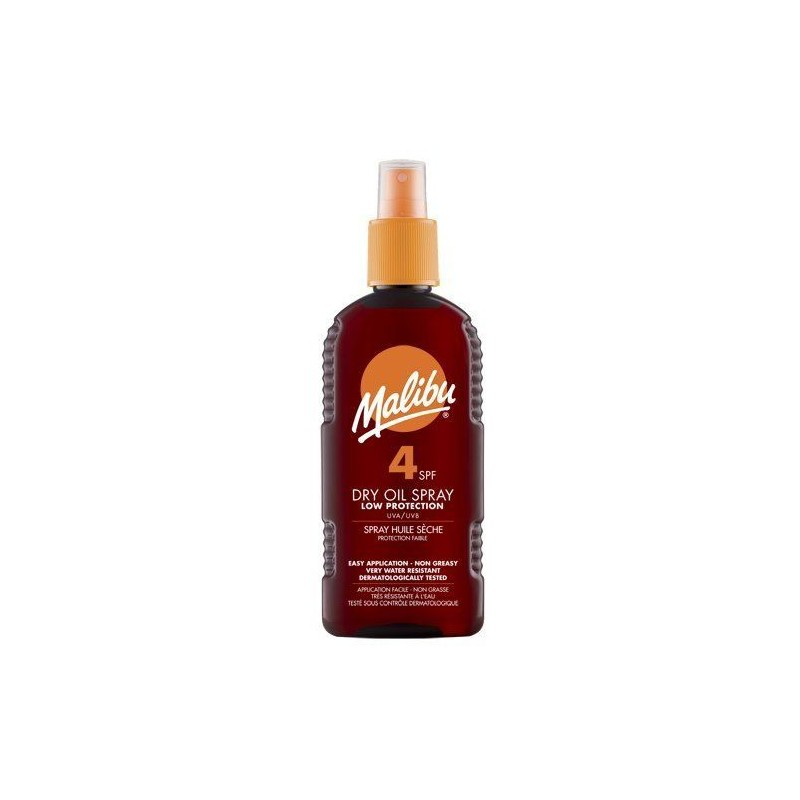 Malibu Dry Oil Spray SPF4