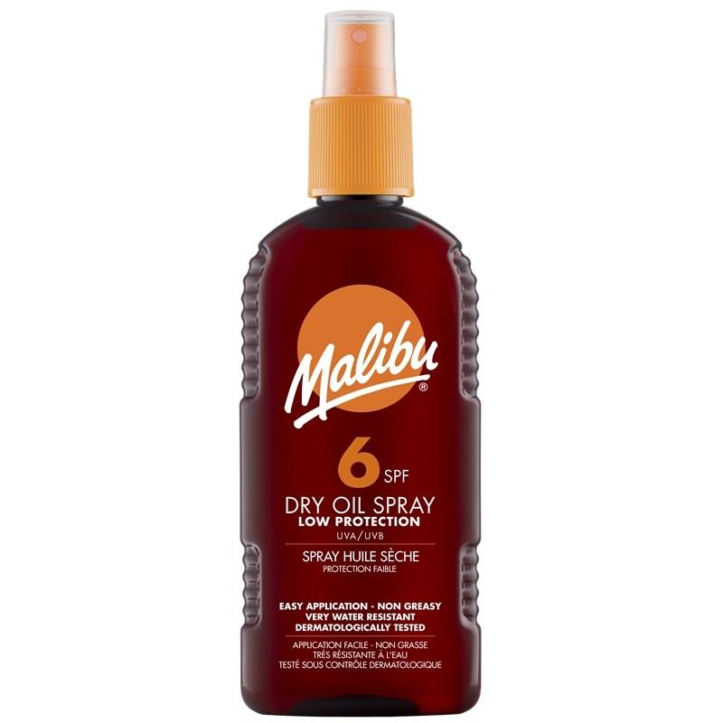 Malibu Dry Oil Spray SPF6