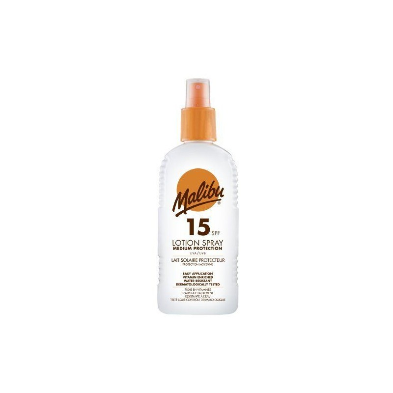 Malibu Sun Lotion Spray SPF15