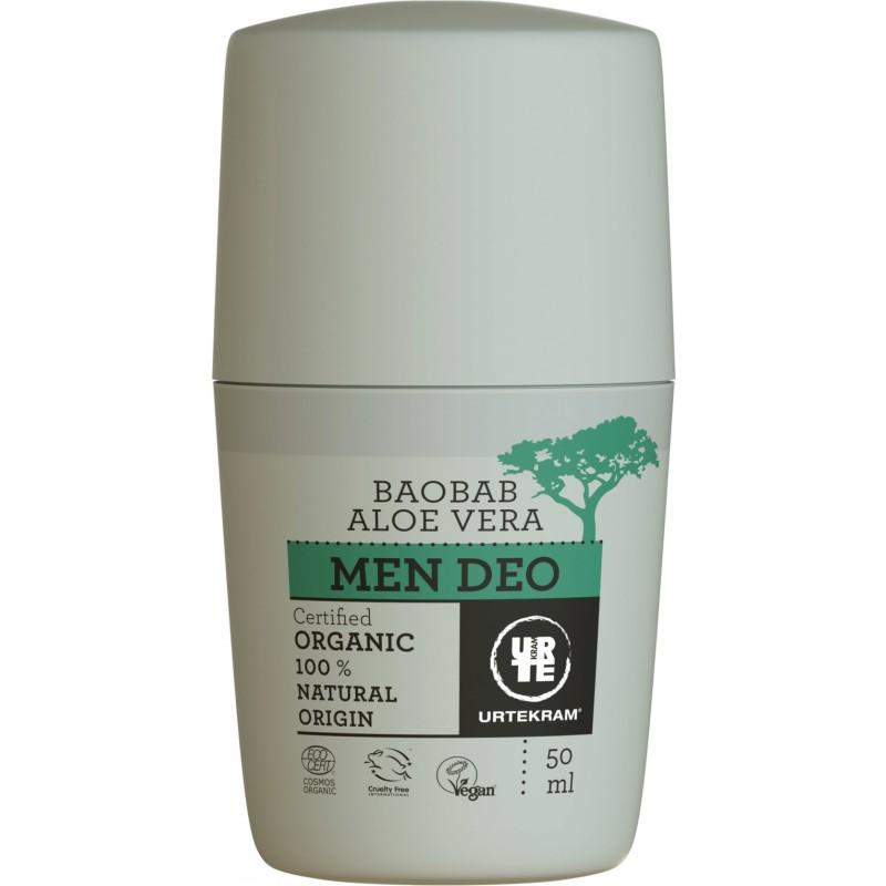 Urtekram Men Baobab Aloe Vera Deostick