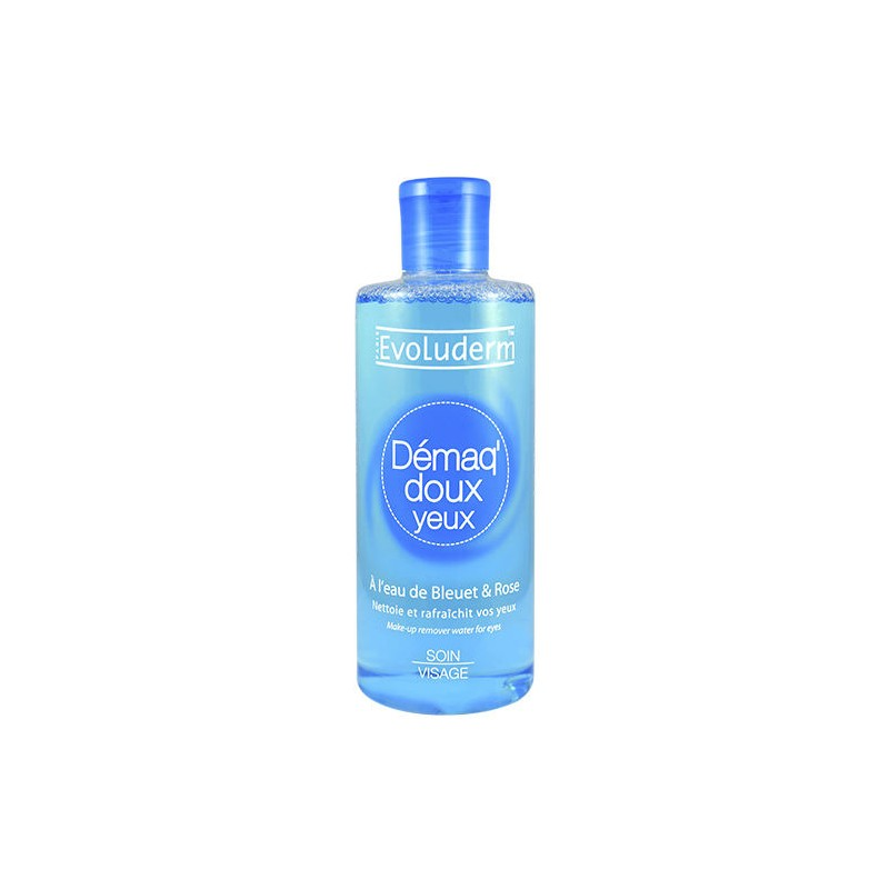 Evoluderm Blue Water Eye Makeup Remover