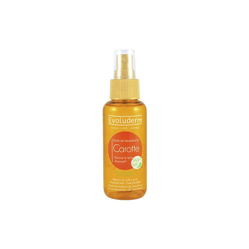 Evoluderm Carrot Beauty Oil