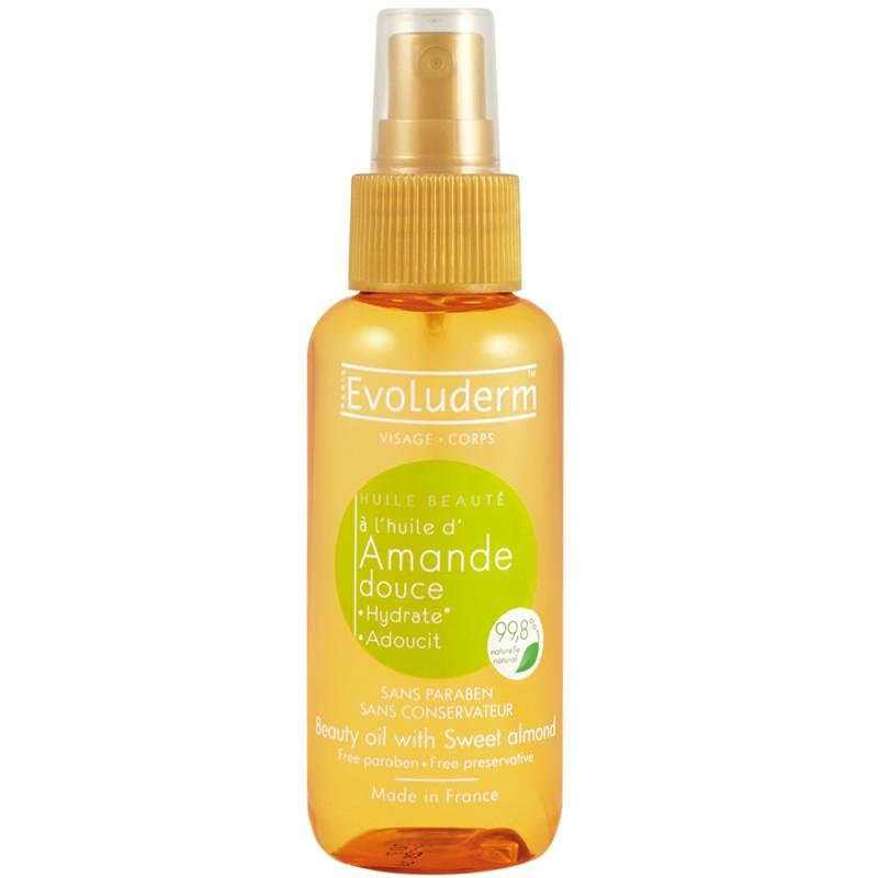 Evoluderm Sweet Almond Beauty Oil