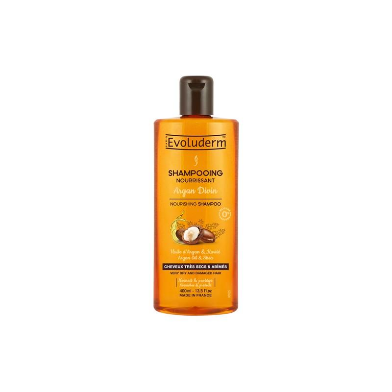 Evoluderm Argan Oil & Shea Shampoo