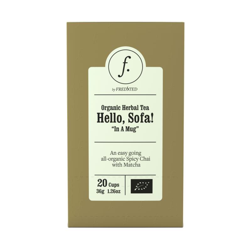 Fredsted Organic Yrttitee Hello, Sofa!