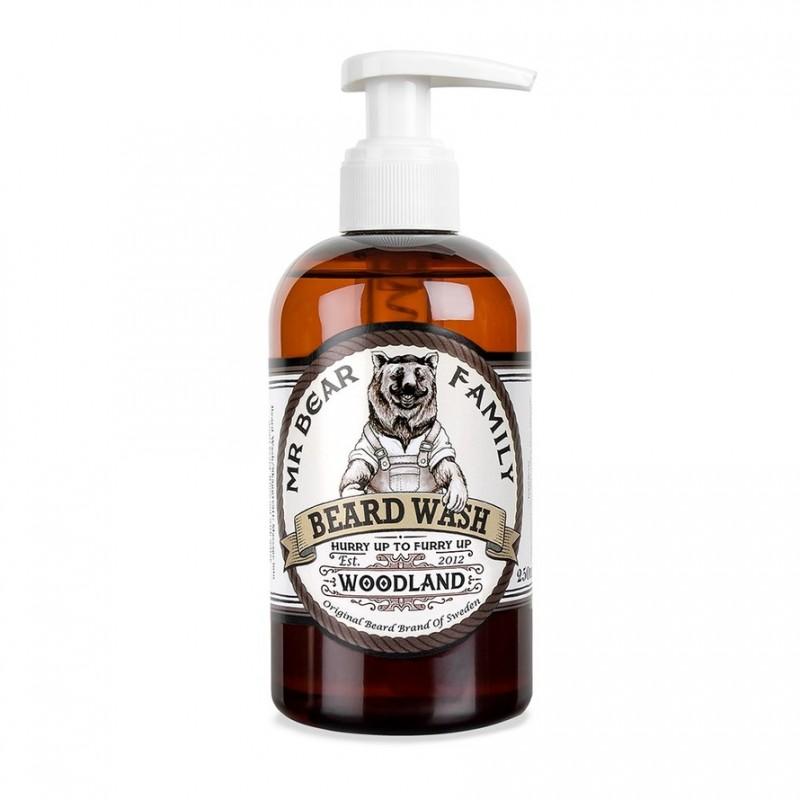 Mr. Bear Family Beard Wash Woodland