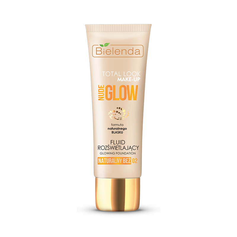 Bielenda Total Look Nude Glow Glowing Foundation 02 Natural Beige