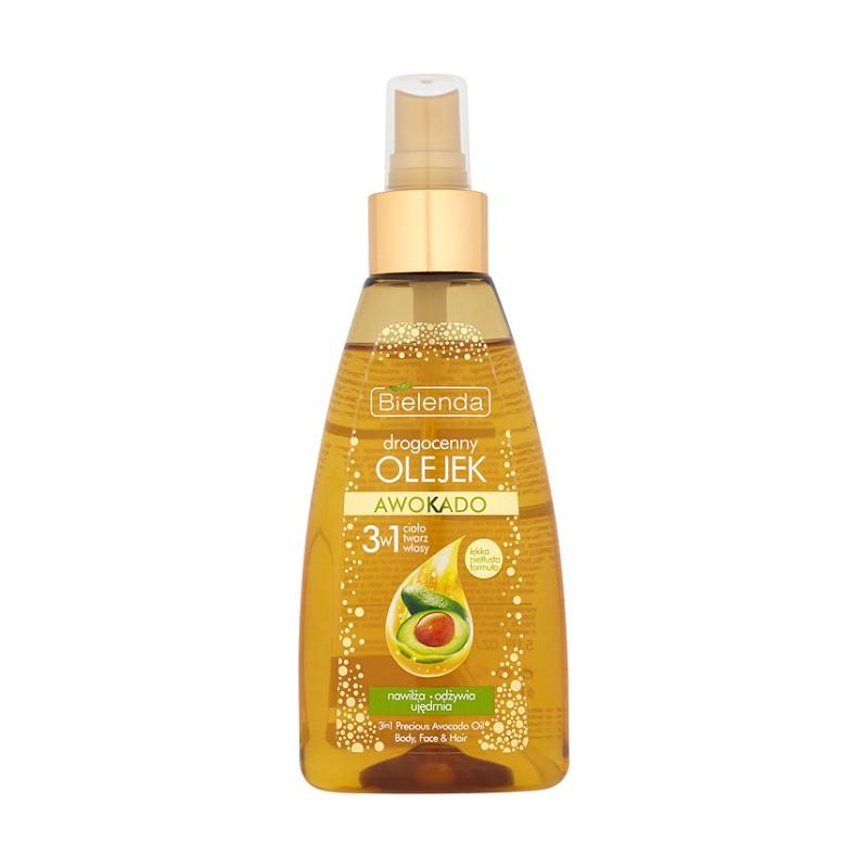 Bielenda Avocado 3in1 Argan Face & Body & Hair Oil