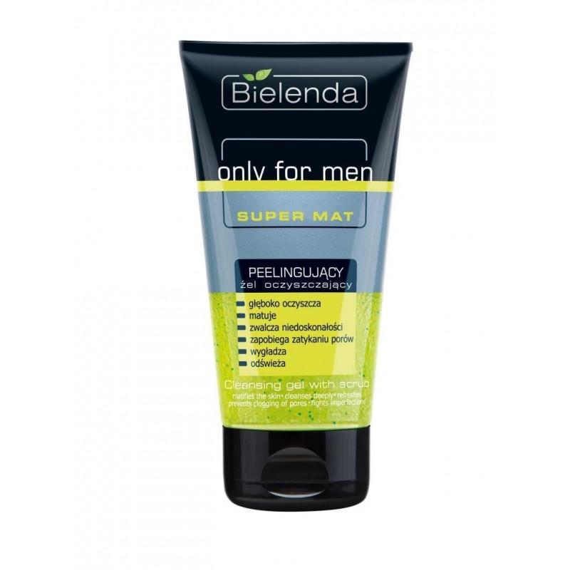 Bielenda Only For Men Cleansing Scrub Gel