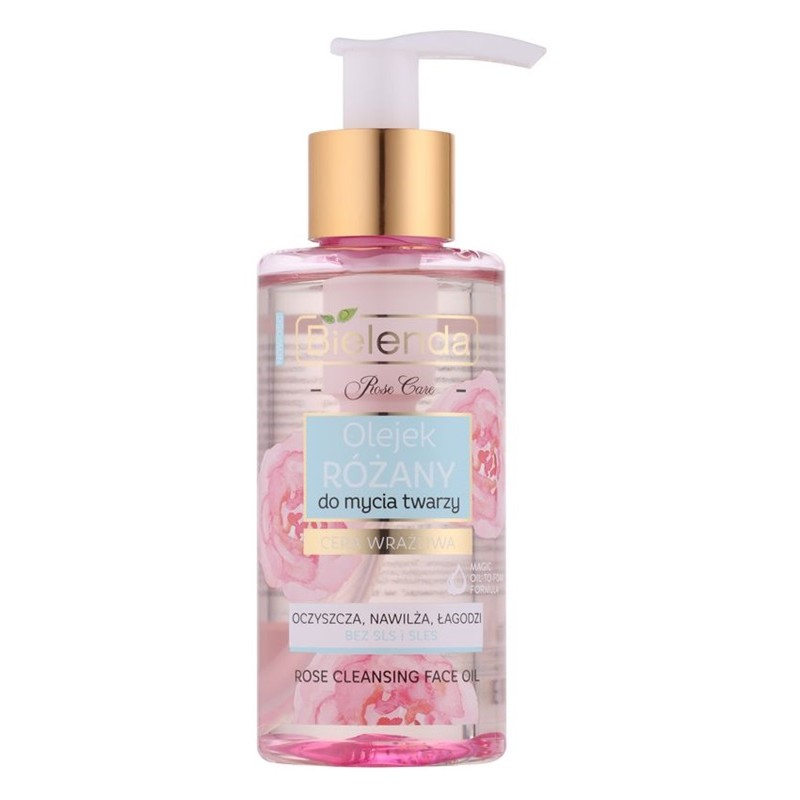 Bielenda Rose Care Rose Cleansing Face Oil