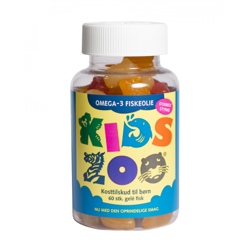 Kids Zoo Omega-3 Fish