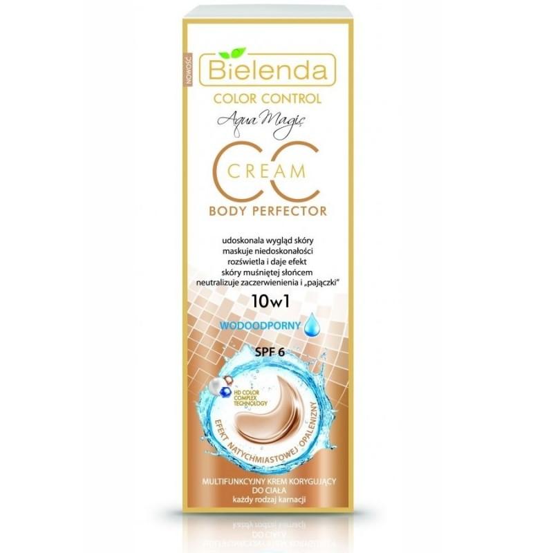 Bielenda Aqua Magic CC 10in1 Multifunctional Waterproof Color Correcting Body Cream