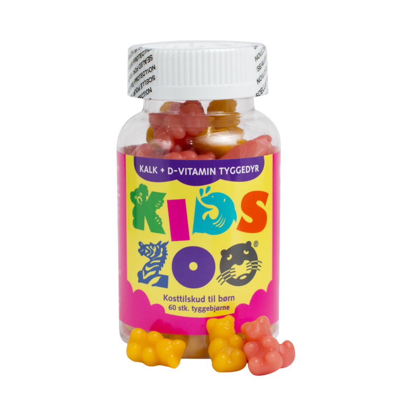 Kids Zoo Calcium + D Bear