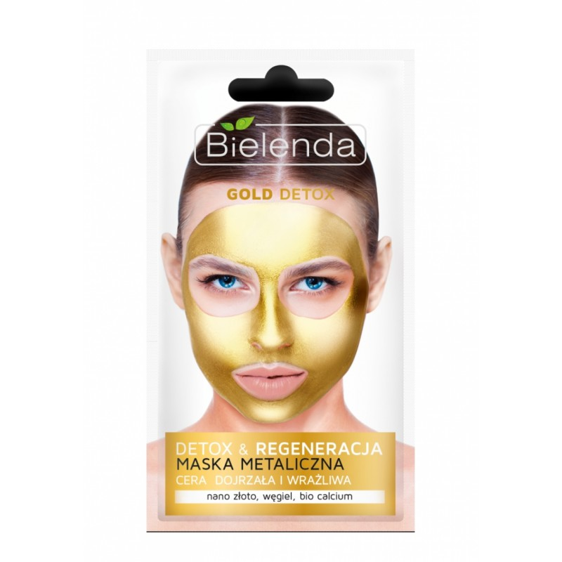 Bielenda Gold Detox Face Mask Mature & Sensitive Skin