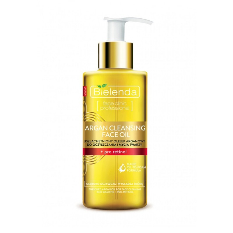 Bielenda Argan Cleansing Face Oil With Pro-Retinol