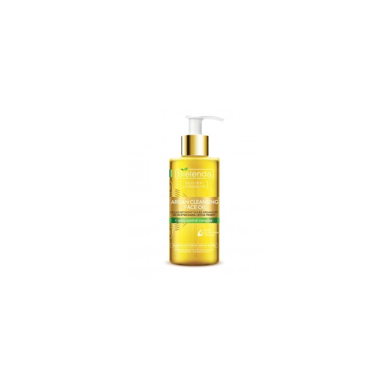 Bielenda Argan Cleansing Face Oil With Sebum Control Complex