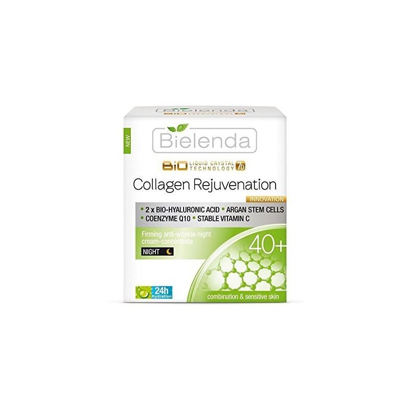 Bielenda Biotechnology Liquid Crystal 7D Firming 40+ Night Cream