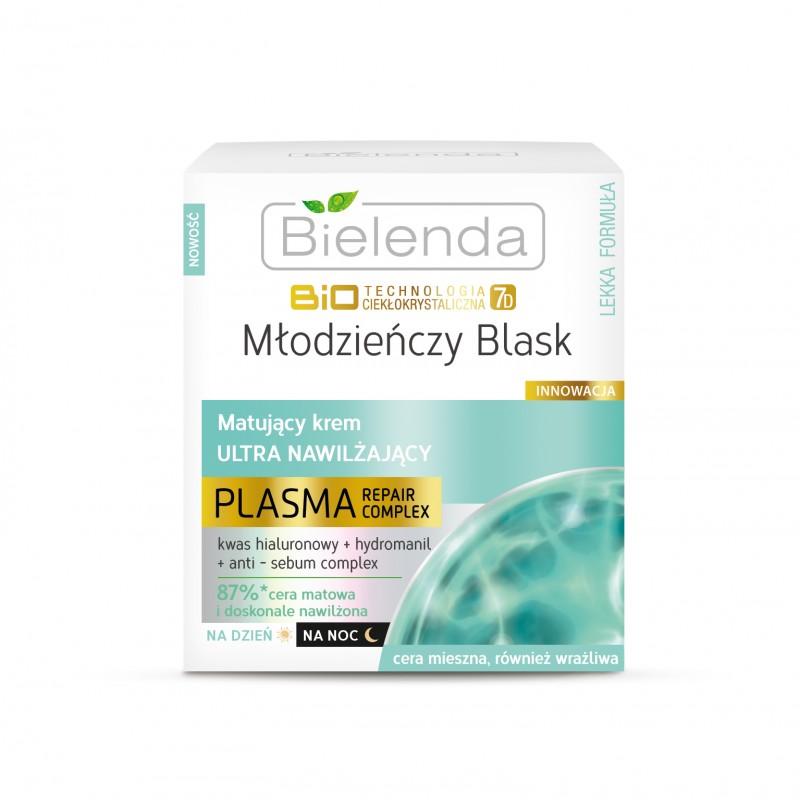 Bielenda Biotechnology Liquid Crystal 7D Ultra Hydrating & Mattifying Cream