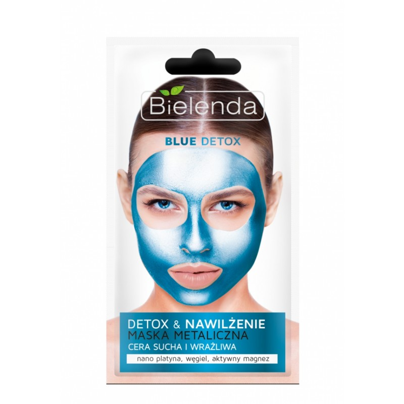 Bielenda Blue Detox Detoxifying Face Mask Dry & Sensitive Skin