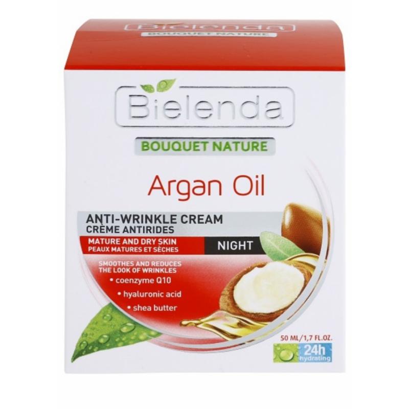 Bielenda Bouquet Nature Argan Oil Night Cream