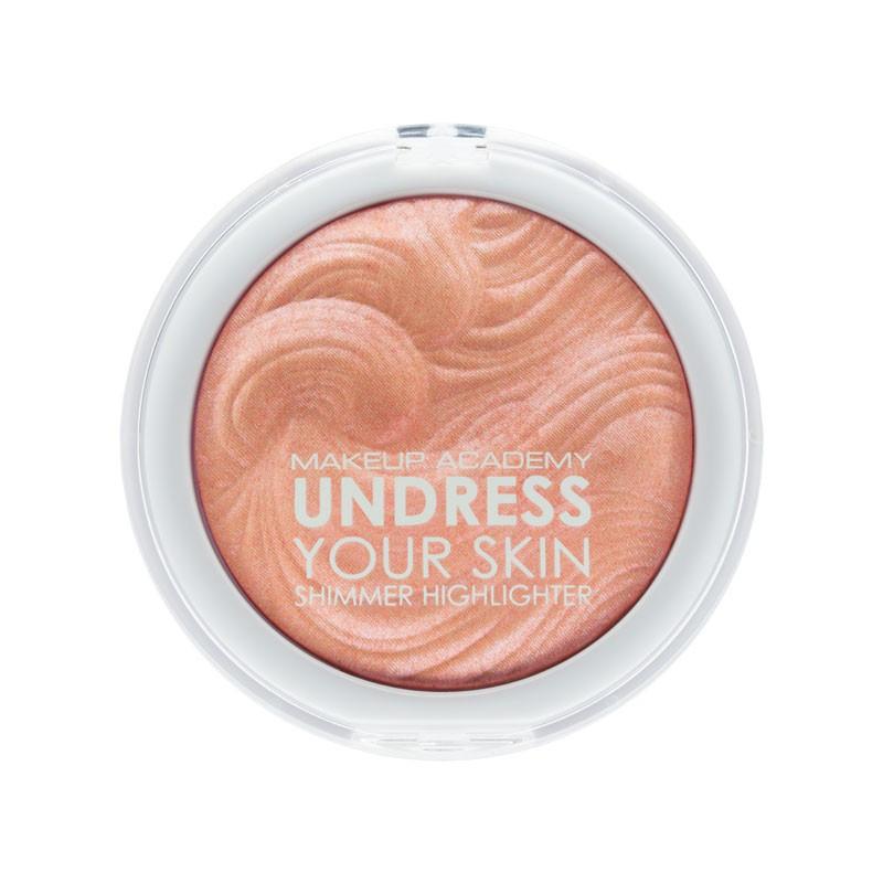 MUA Makeup Academy Undress Your Skin Shimmer Highlighter Opalescent Amber