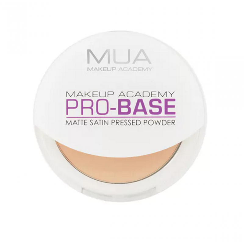 MUA Makeup Academy Pro-Base Matte Satin Pressed Powder Warm Ivory
