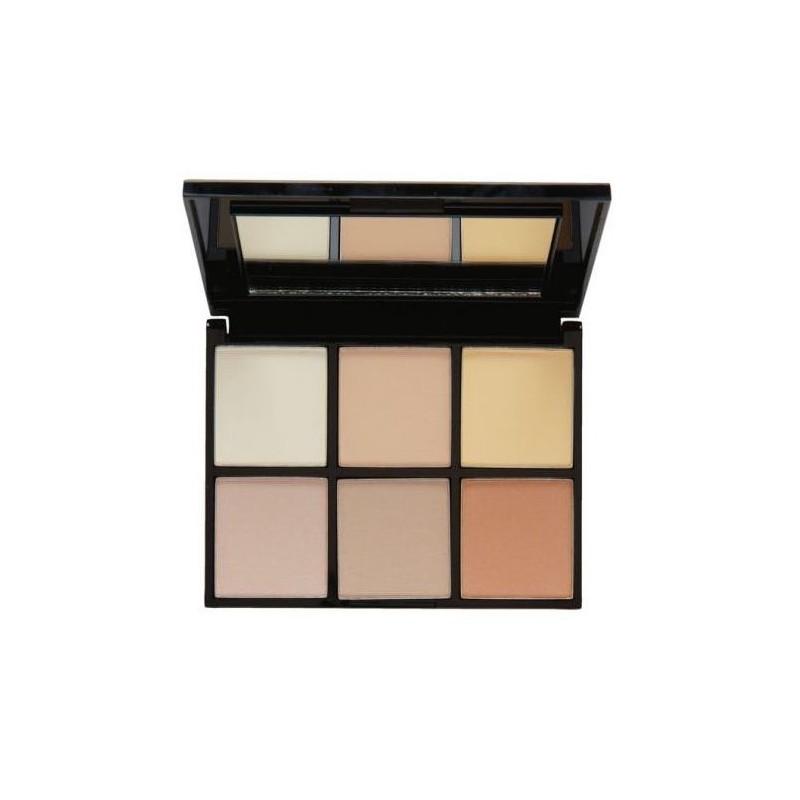 MUA Makeup Academy Luxe Radiant Illumination Highlighting Kit