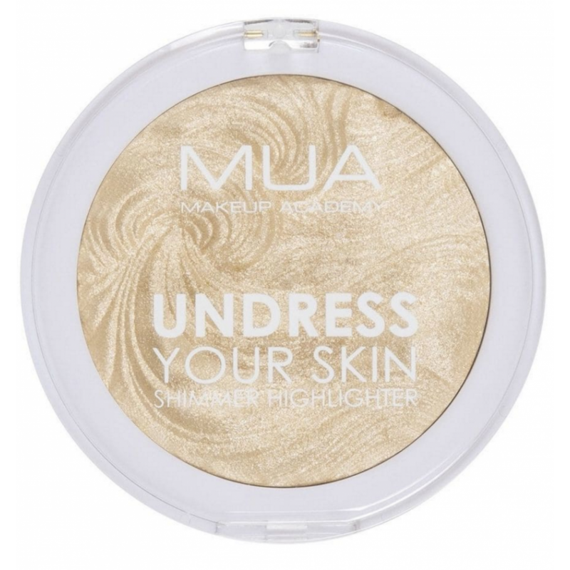 MUA Makeup Academy Undress Your Skin Shimmer Highlighter Golden Scintillation