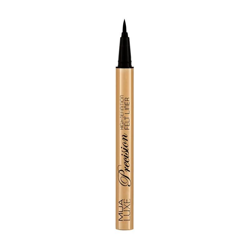 MUA Makeup Academy Luxe Precision Felt Liner Black