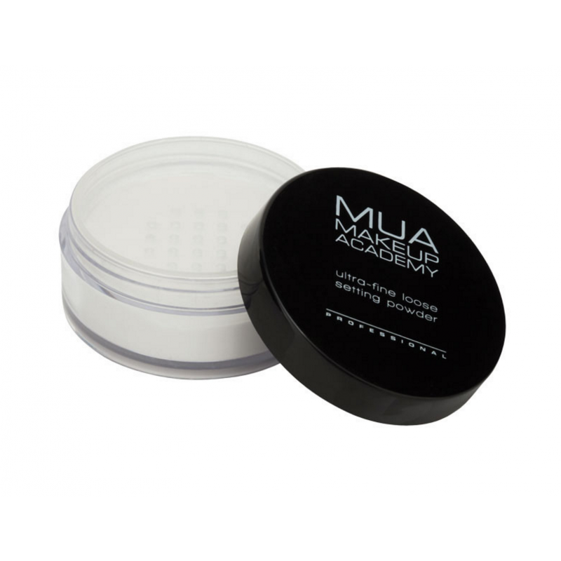 MUA Makeup Academy Ultra-Fine Loose Setting Powder Translucent