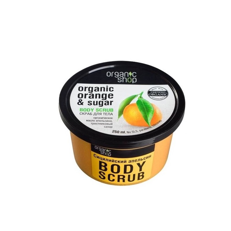Organic Shop Bio Body Peeling Orange & Sugar