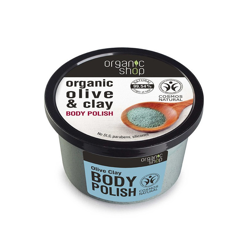 Organic Shop Organic Olive & Clay Body Polish