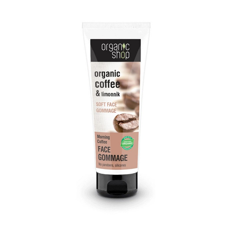 Organic Shop Organic Coffee & Limonnik Soft Face Gommage