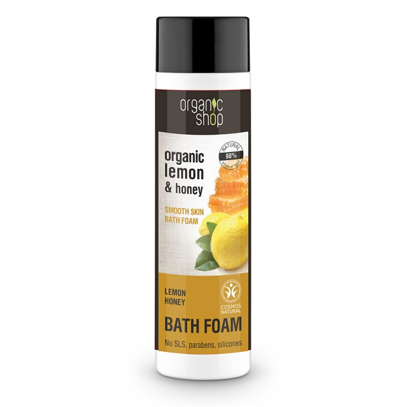 Organic Shop Organic Lemon & Honey Bath Foam