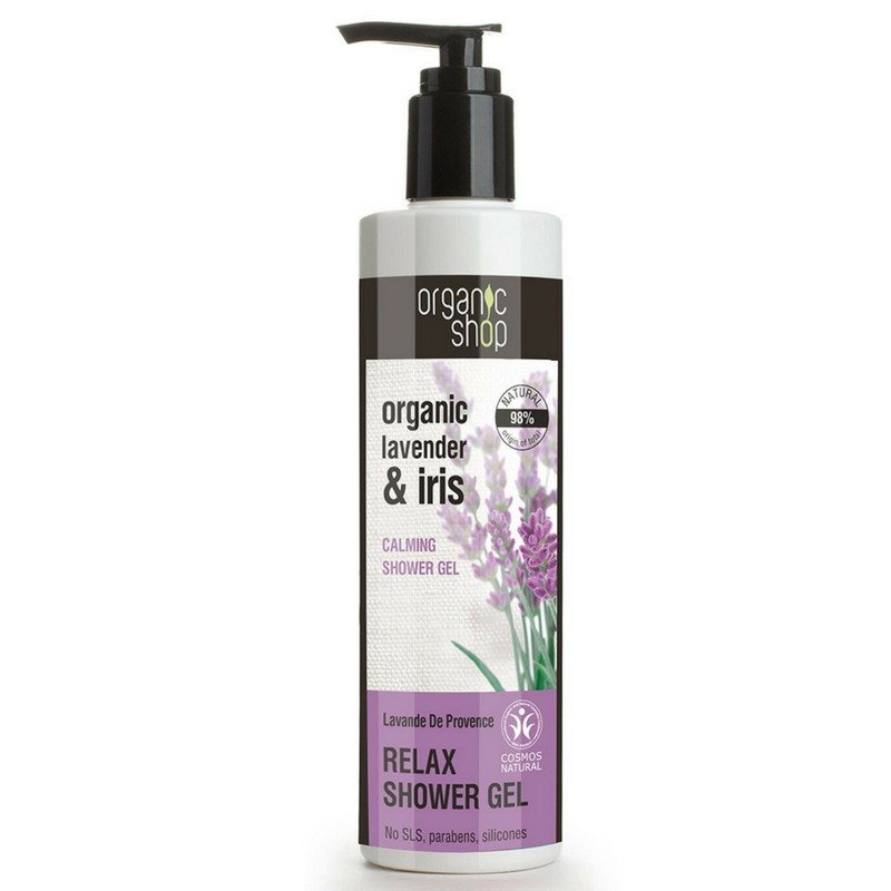 Organic Shop Organic Lavender & Iris Relax Shower Gel