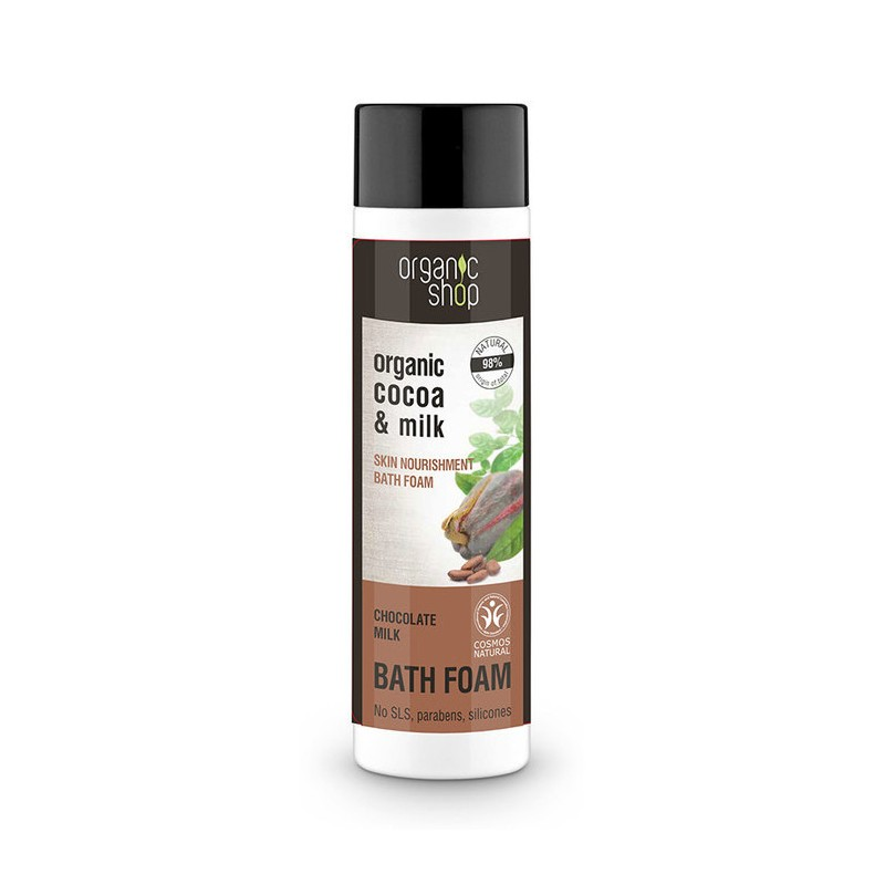 Organic Shop Organic Cocoa & Chocolate Milk Bath Foam