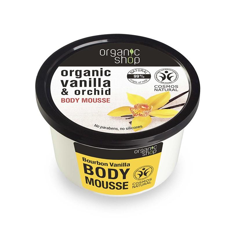 Organic Shop Organic Bourbon Vanilla & Orchid Body Mousse