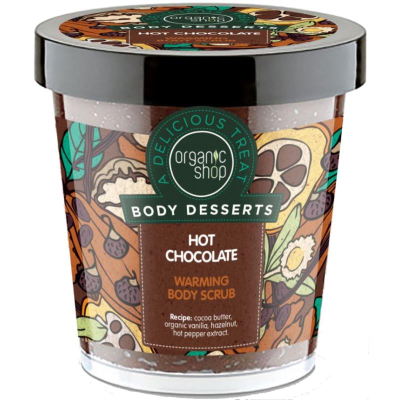 Organic Shop Hot Chocolate Warming Body Scrub